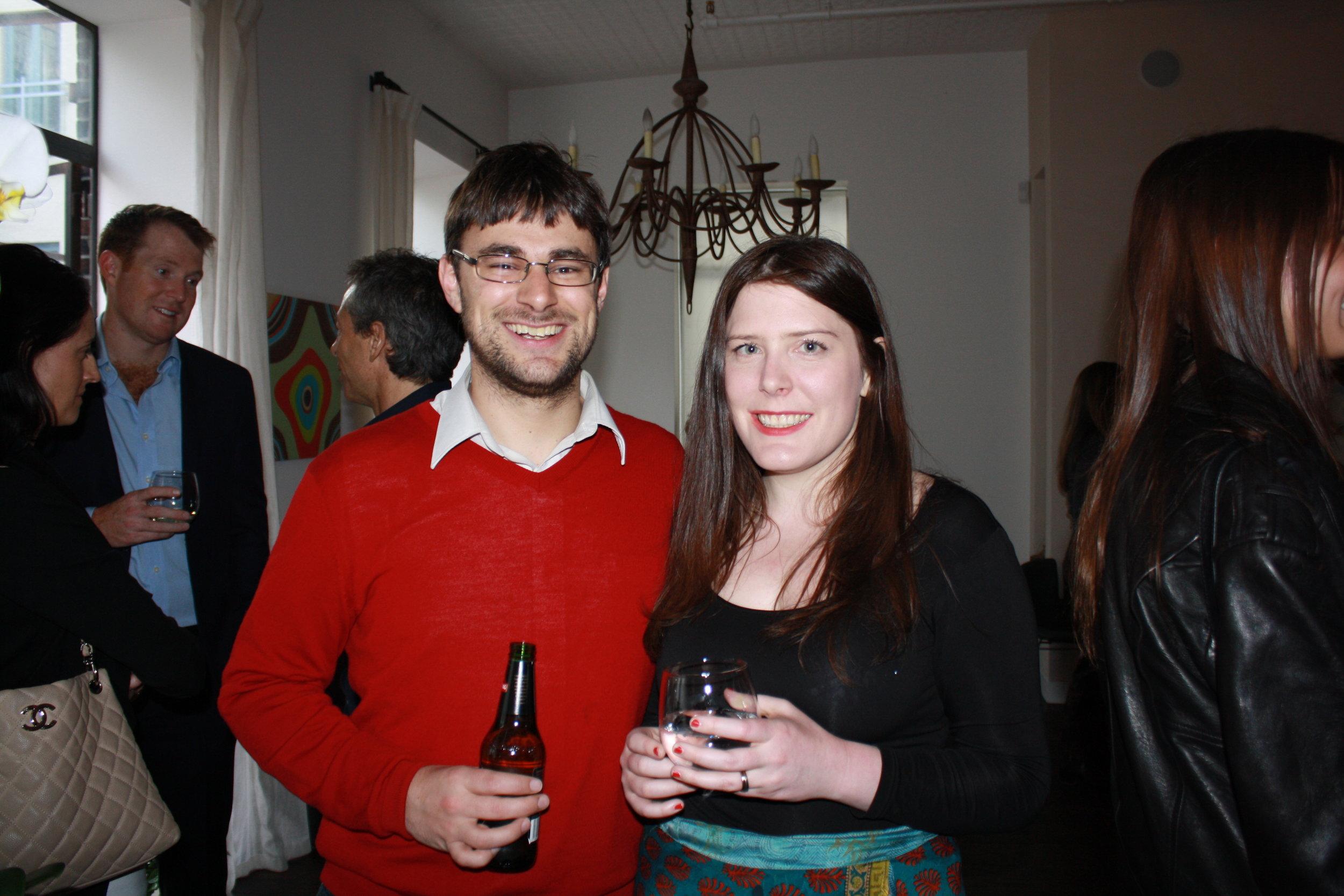 Simon Moss and Rachel Hills