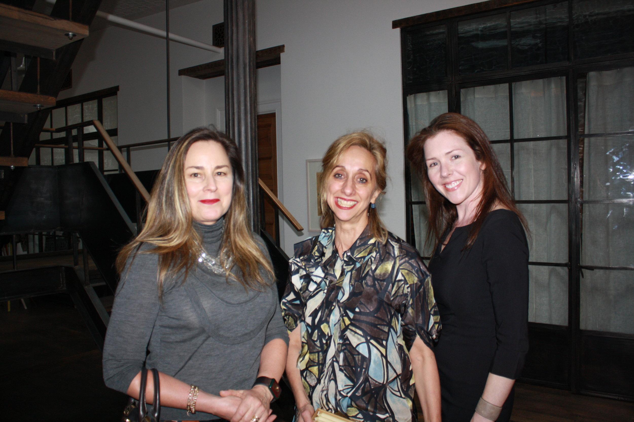 Dr Miriam Stein, Donna Green and Melissa Hill