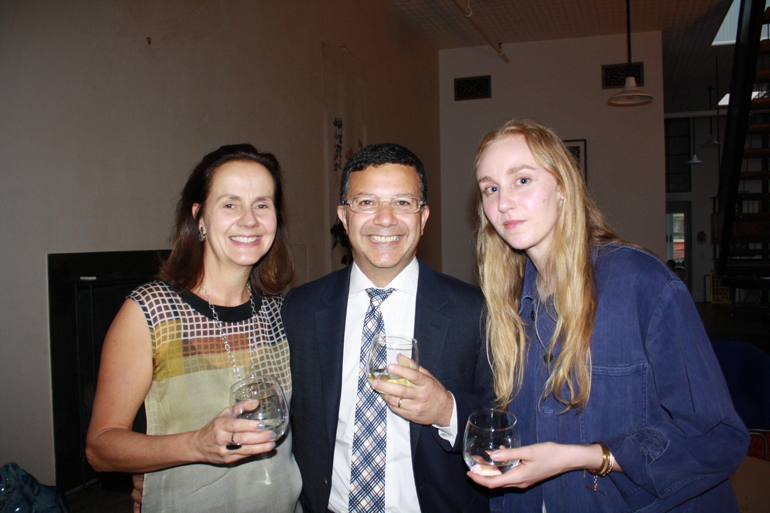 Sally Paridis, Steve Paridis and Millie Stein