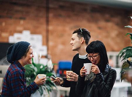 Vinomofo team members in their Melbourne office.