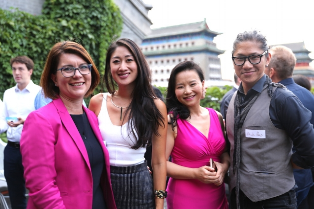 Stefanie Myers, Cassie Wang, Cheng Lei and Rich Akers