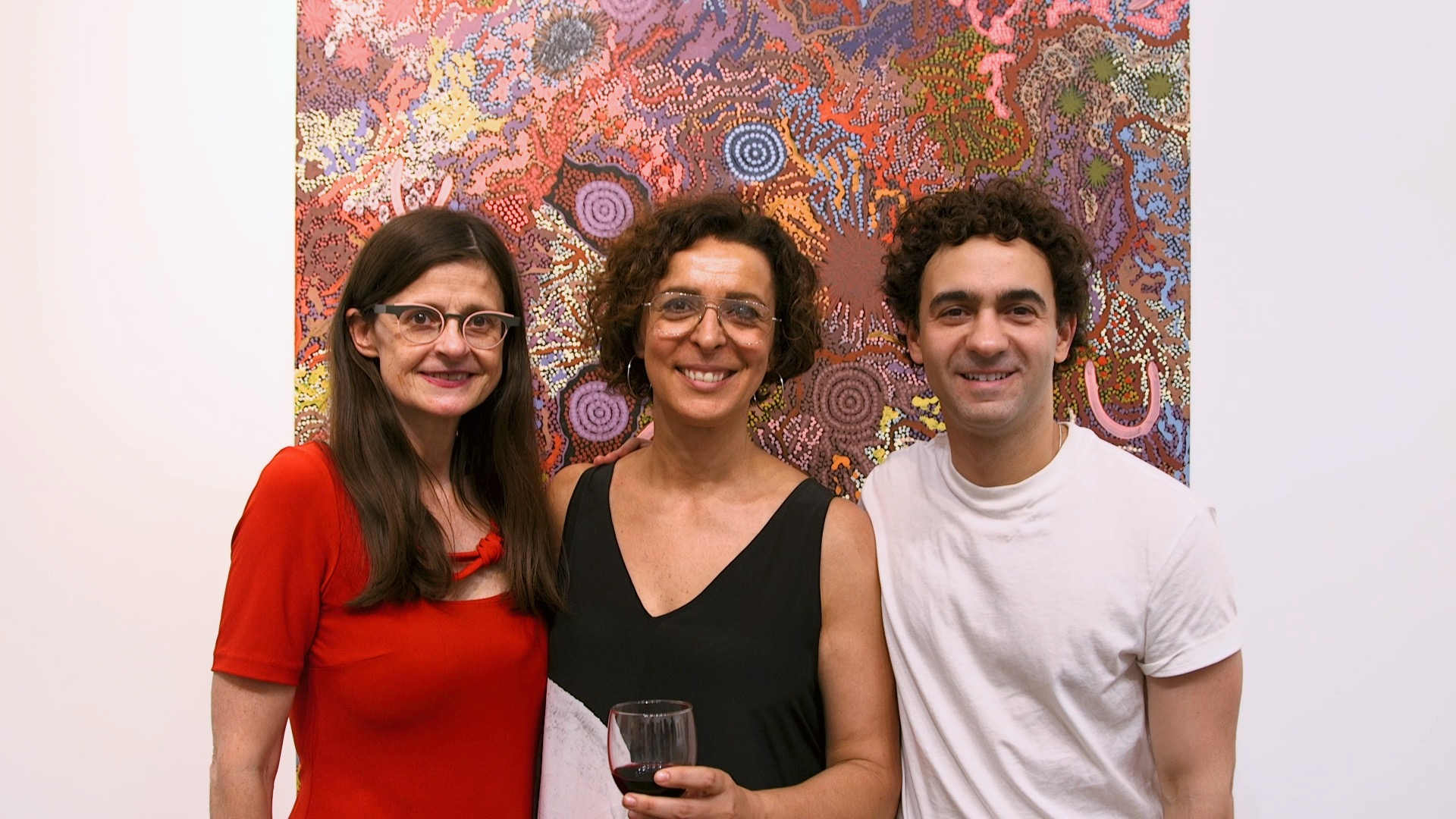 Belinda Luscombe, Serafina Maiorano and Jeremy Heimans