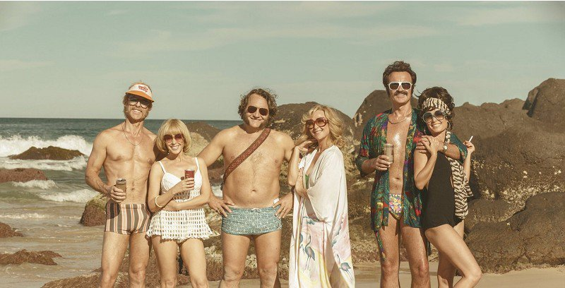 Swinging Safari - 7 July -  5pm   Pass the Iced VoVos* and crack open the chateau d'cardboard (aka wine box) as Kylie Minogue and Guy Pearce reunite for the first time since  Neighbours , in the latest feature from Stephan Elliott ( Priscilla, Queen of the Desert ), a madcap comedy that unceremoniously skewers Aussie family life in the 1970s. Buy tickets