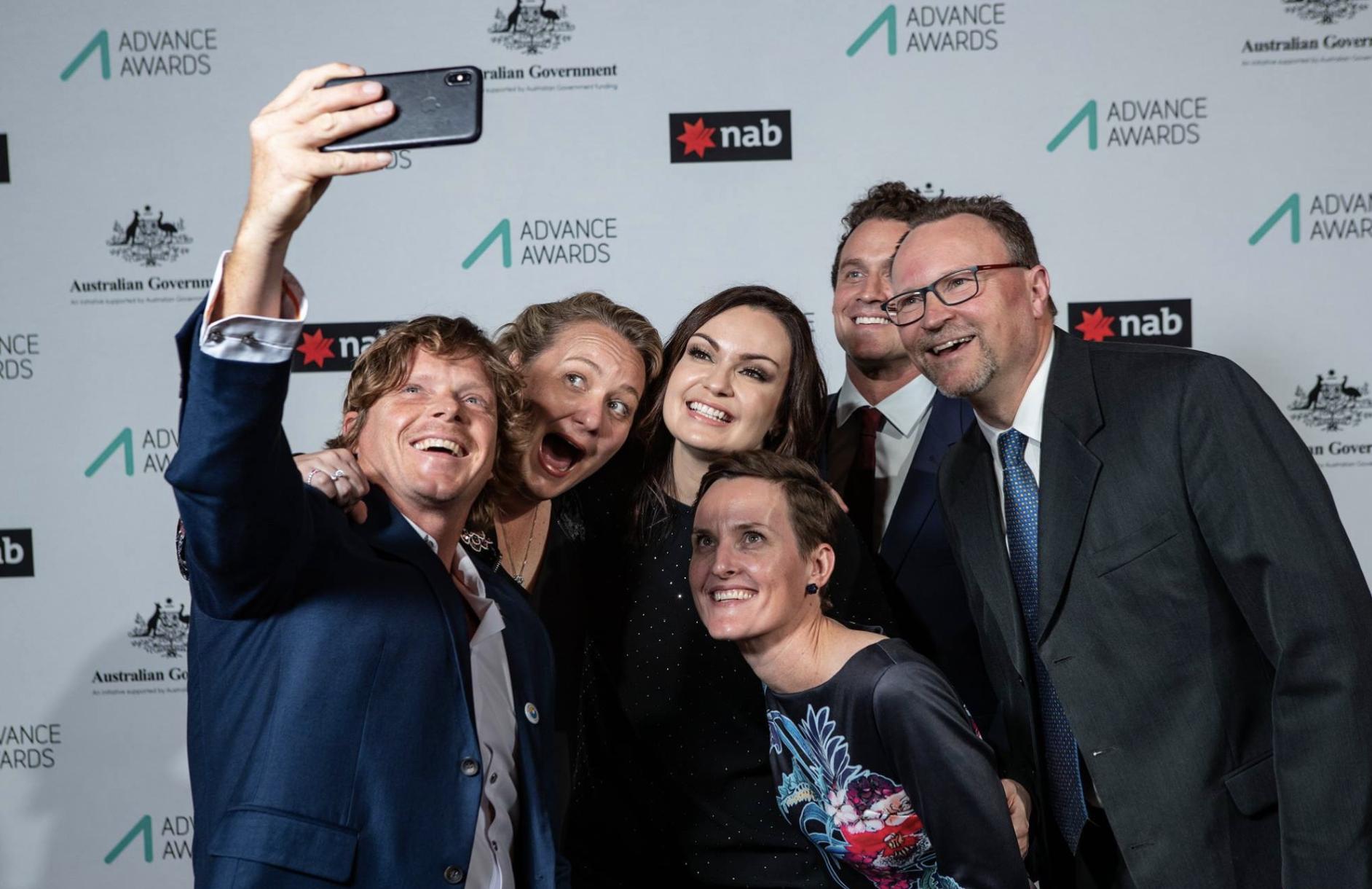 2018 Advance Awards winners