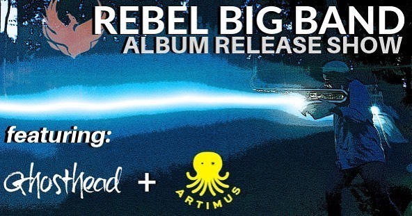 OCTOBER 13TH IN THE ATLANTA ROOM!! * #showannouncement: we're playing with the awesome @rebelbigband and @ghosthead.atl at @smithsoldebar * Show at 7pm