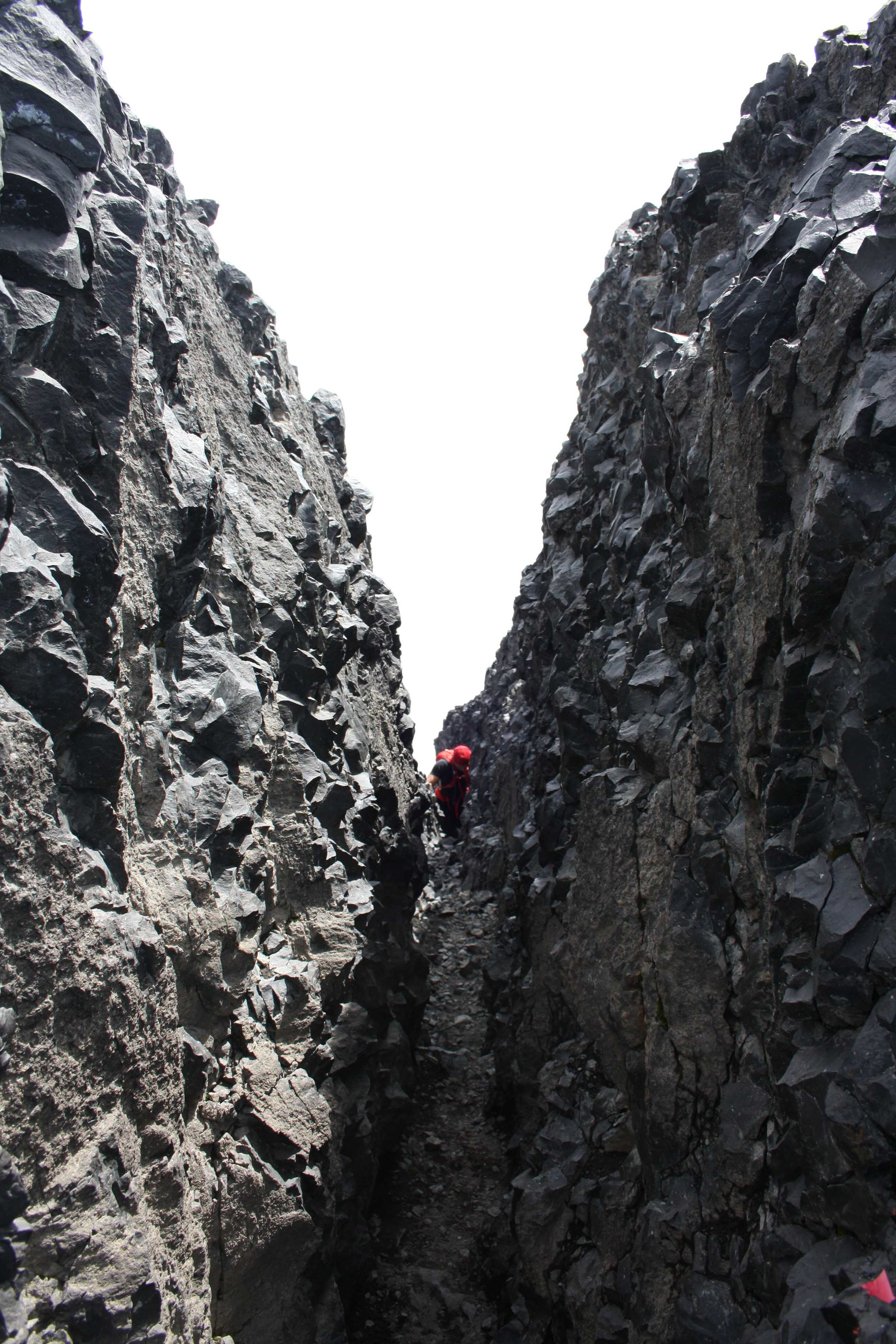 The rock scramble to the tusk was interesting.