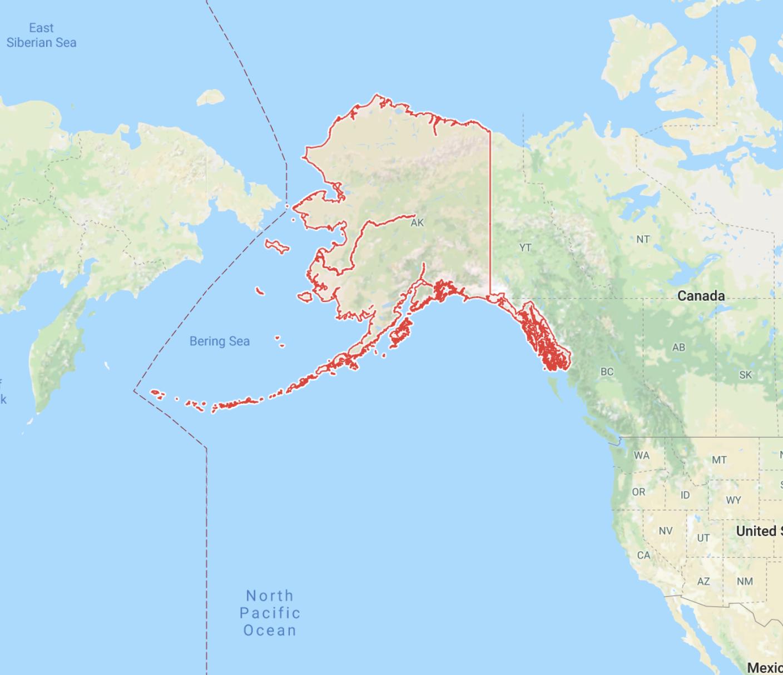 Alaska is huge!