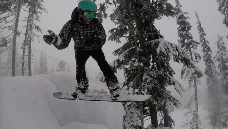 Deep in that Revelstoke Powder!