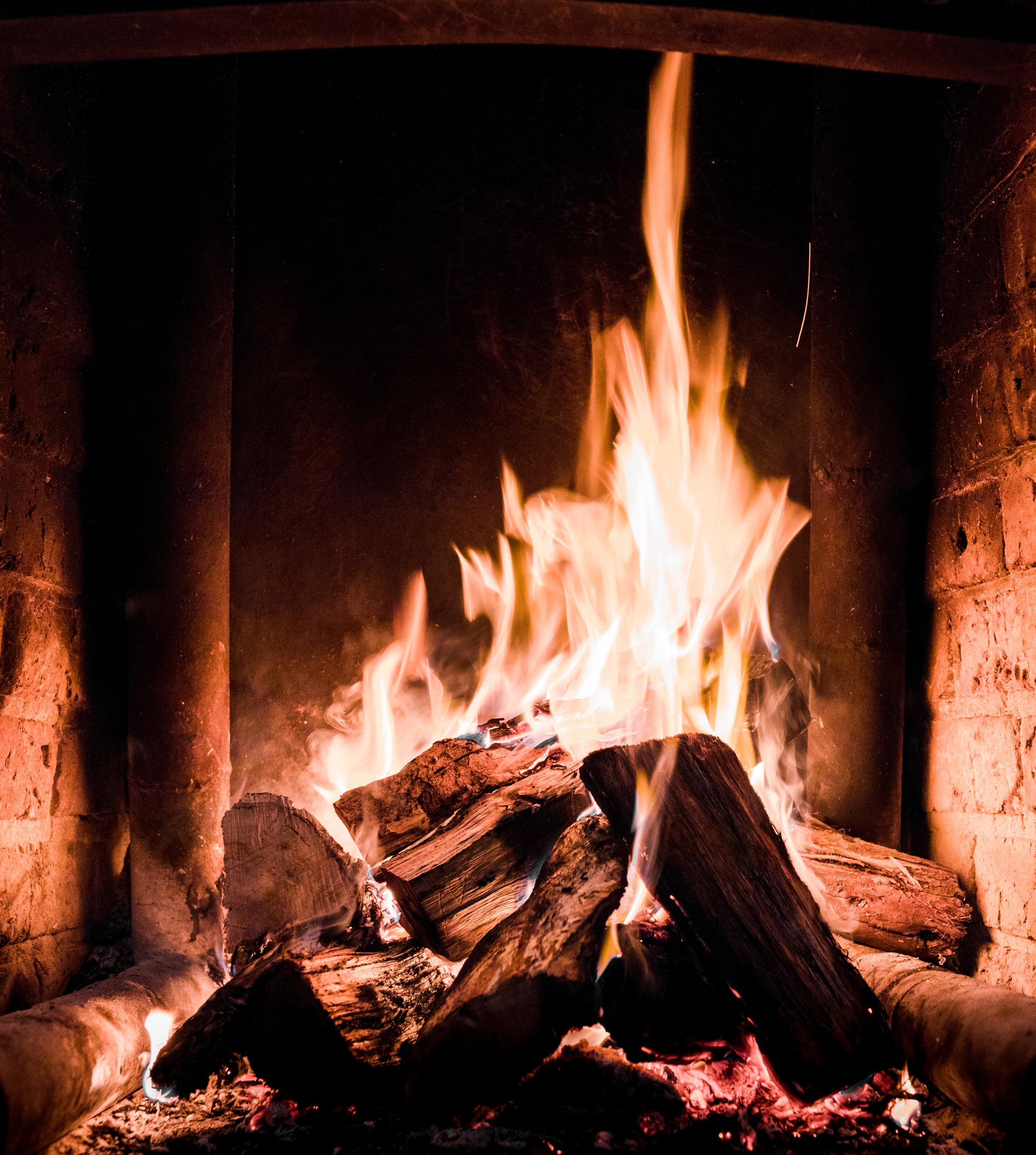 A Warm Fire Before Bed.