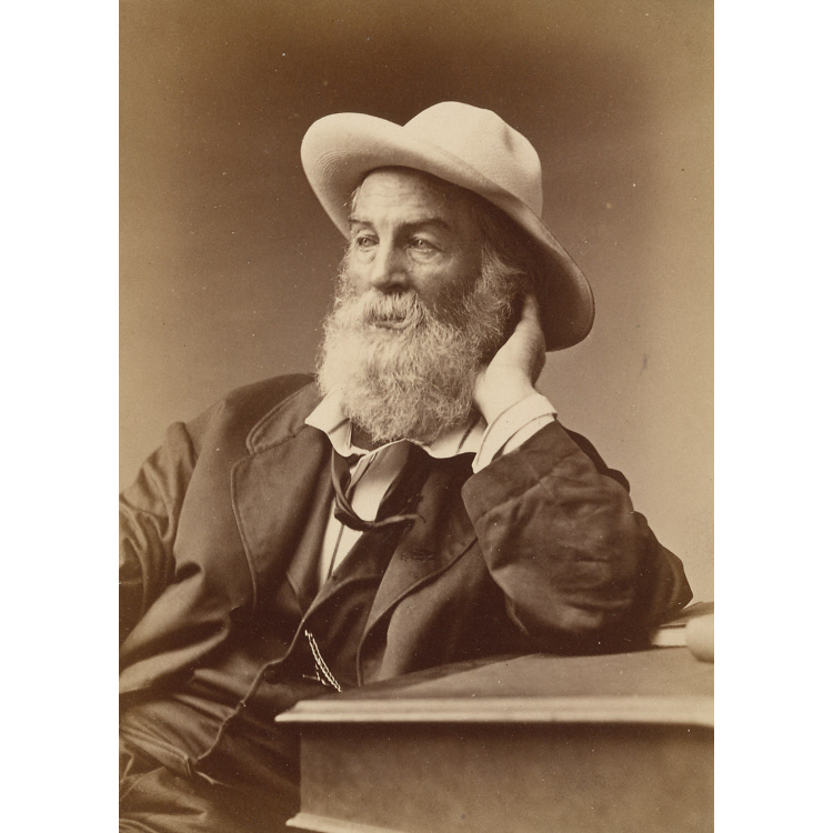 Walt Whitman.  National Portrait Gallery