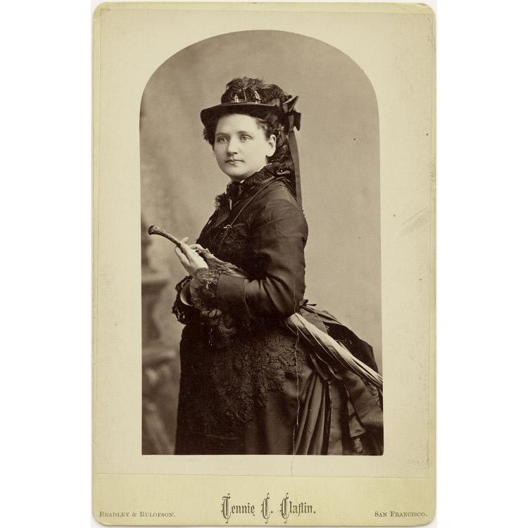 Tennie C. Claflin.  National Portrait Gallery
