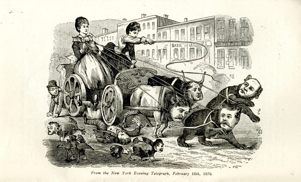 """Victoria and Tennie """"driving the bulls"""""""