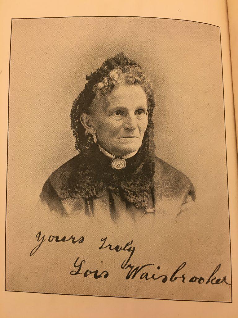 Lois Waisbrooker.  From Helen Harlow's Vow.