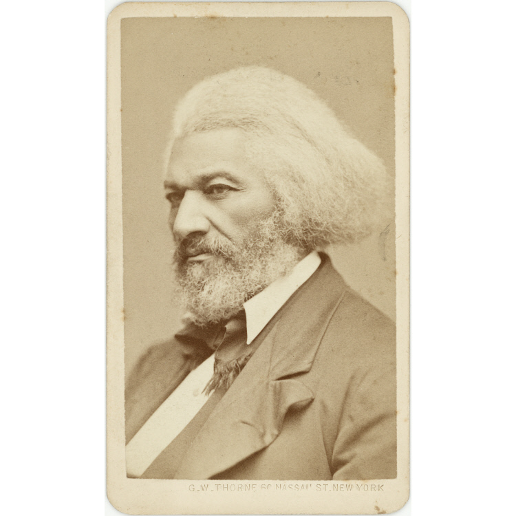 Frederick Douglass.  National Portrait Gallery.