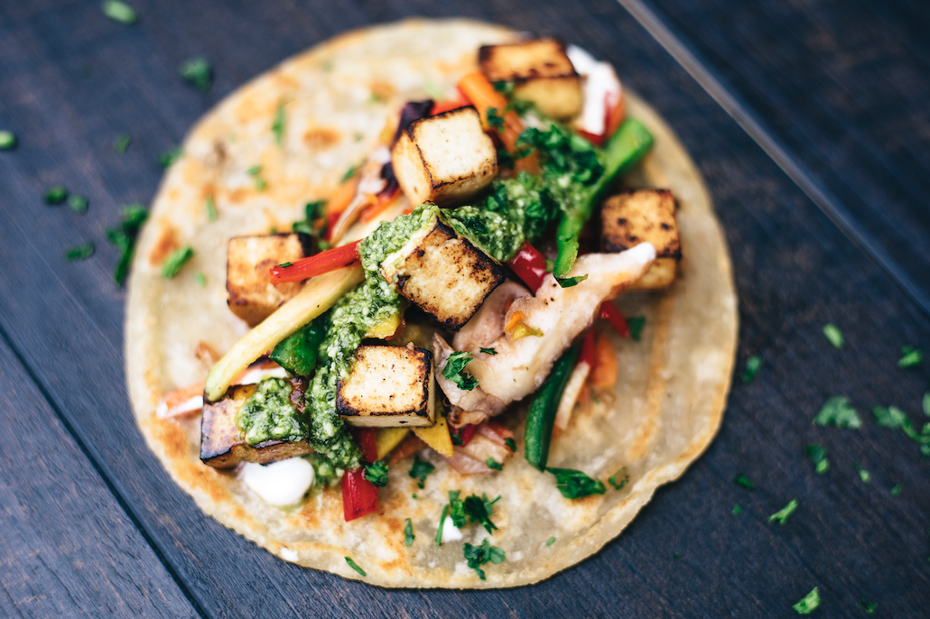 Tofu + Veggies