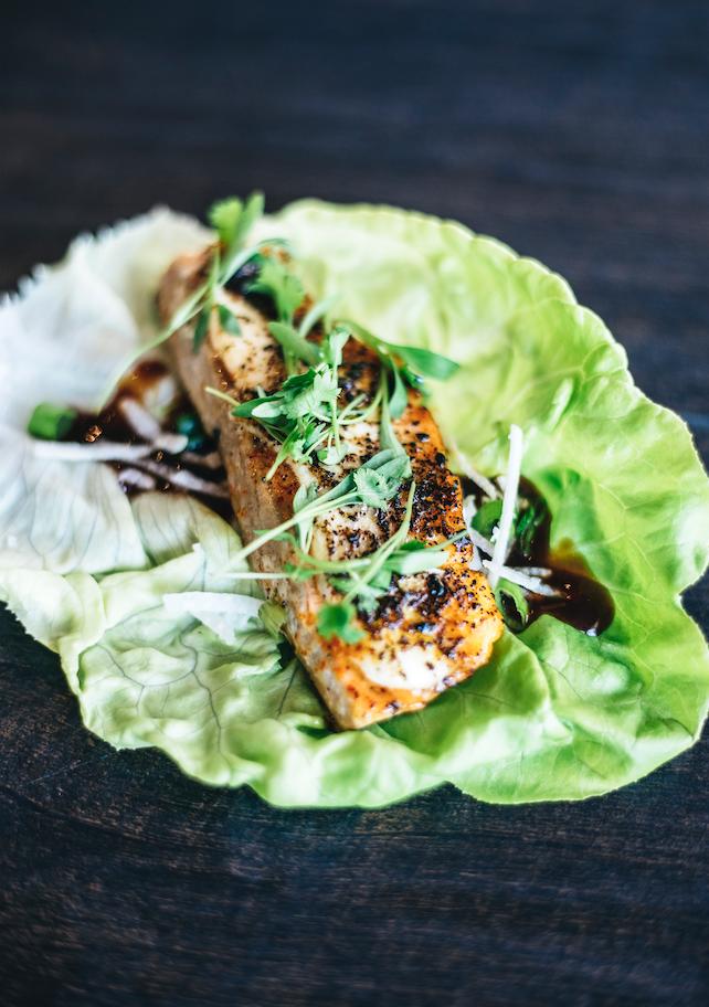 Asian Salmon (Protein Style)