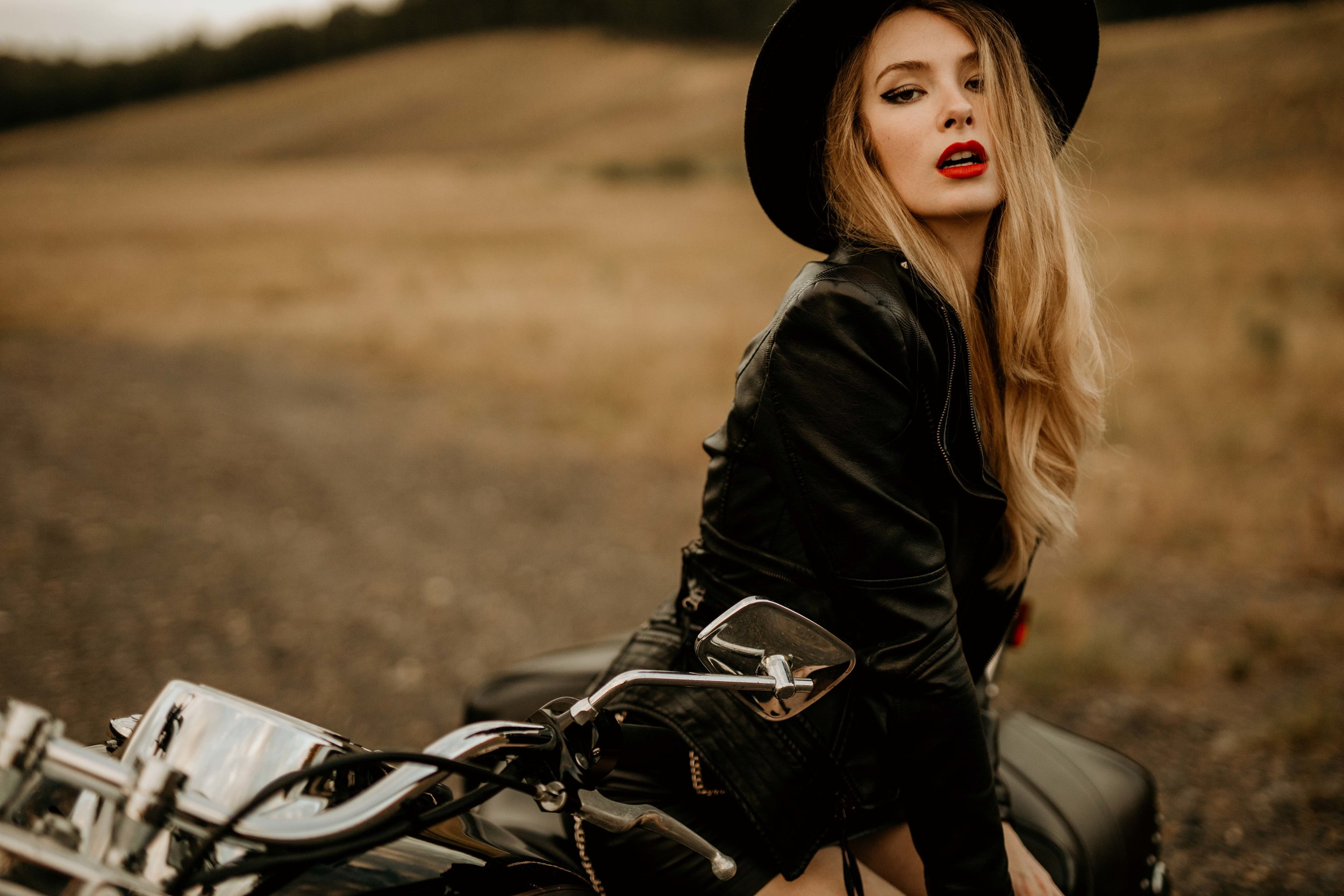 abbey motorcycle little rock arkansas fashion editorial