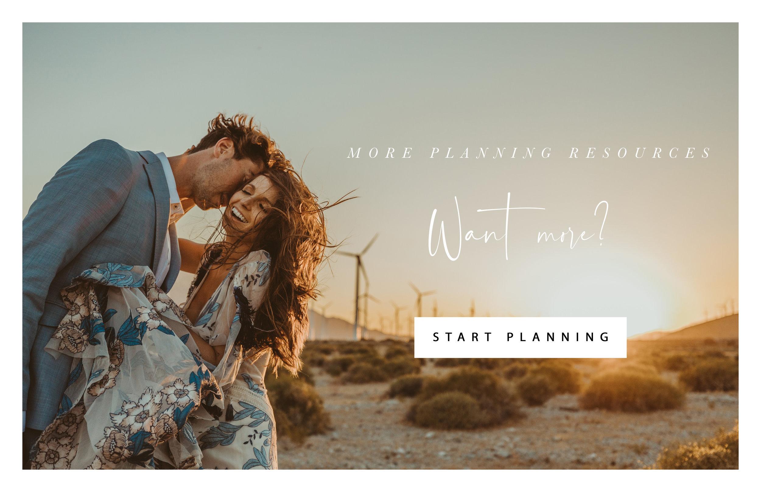 START PLANNING YOUR DREAM WEDDING OR ELOPEMENT
