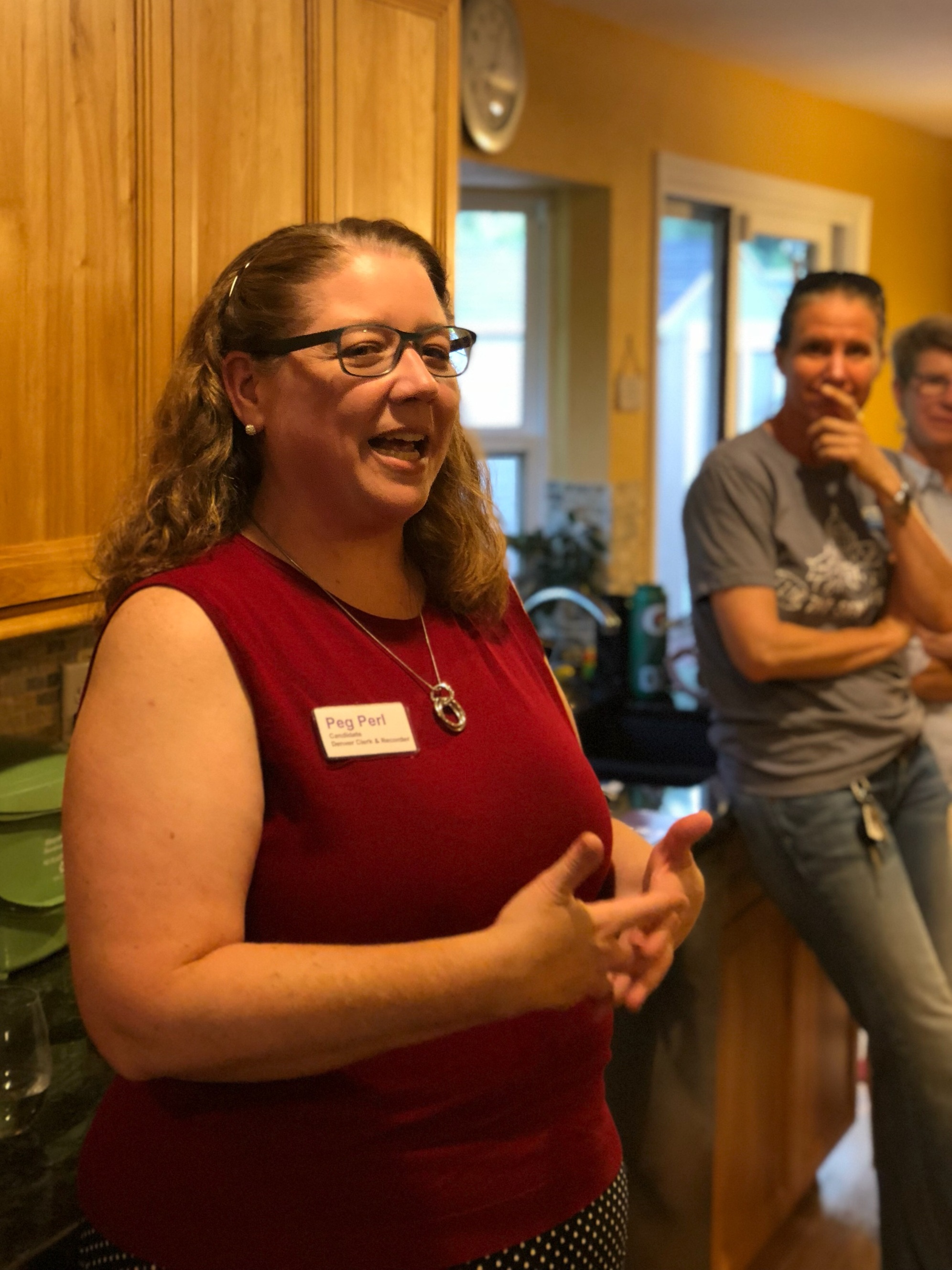 Denver Clerk and Recorder candidate Peg Perl