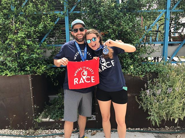 Thanks Austin!! See you next time!! Check out our full album from yesterday's race on our Facebook page! #wheretonextrace #w2nr #wheretonext #austin #texas #atx #ourchallenge #youradventure #scavengerhunt #amazing #race #