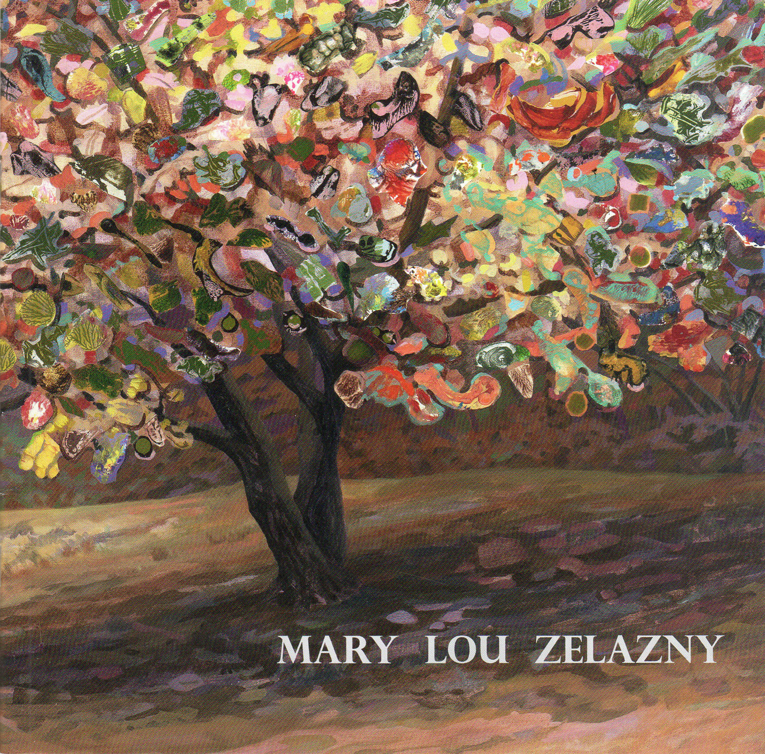 Mary Lou Zelazny.  This catalog includes a brief survey of Zelazny's work from 2017.