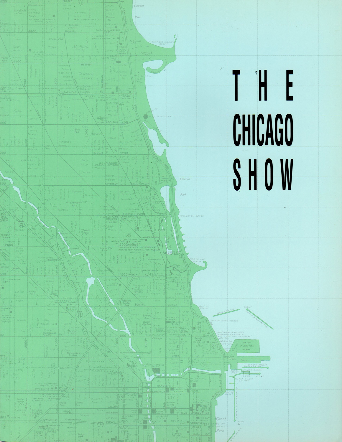 The Chicago Show.  Organized by the Department of Cultural Affairs, The Art Institute of Chicago and the Museum of Contemporary Art, this catalog documents an exhibition juried by Neal Benezra, Kenneth C. Burkhart and Lynne Warren. The exhibit was shown at the Chicago Cultural Center in 1990.