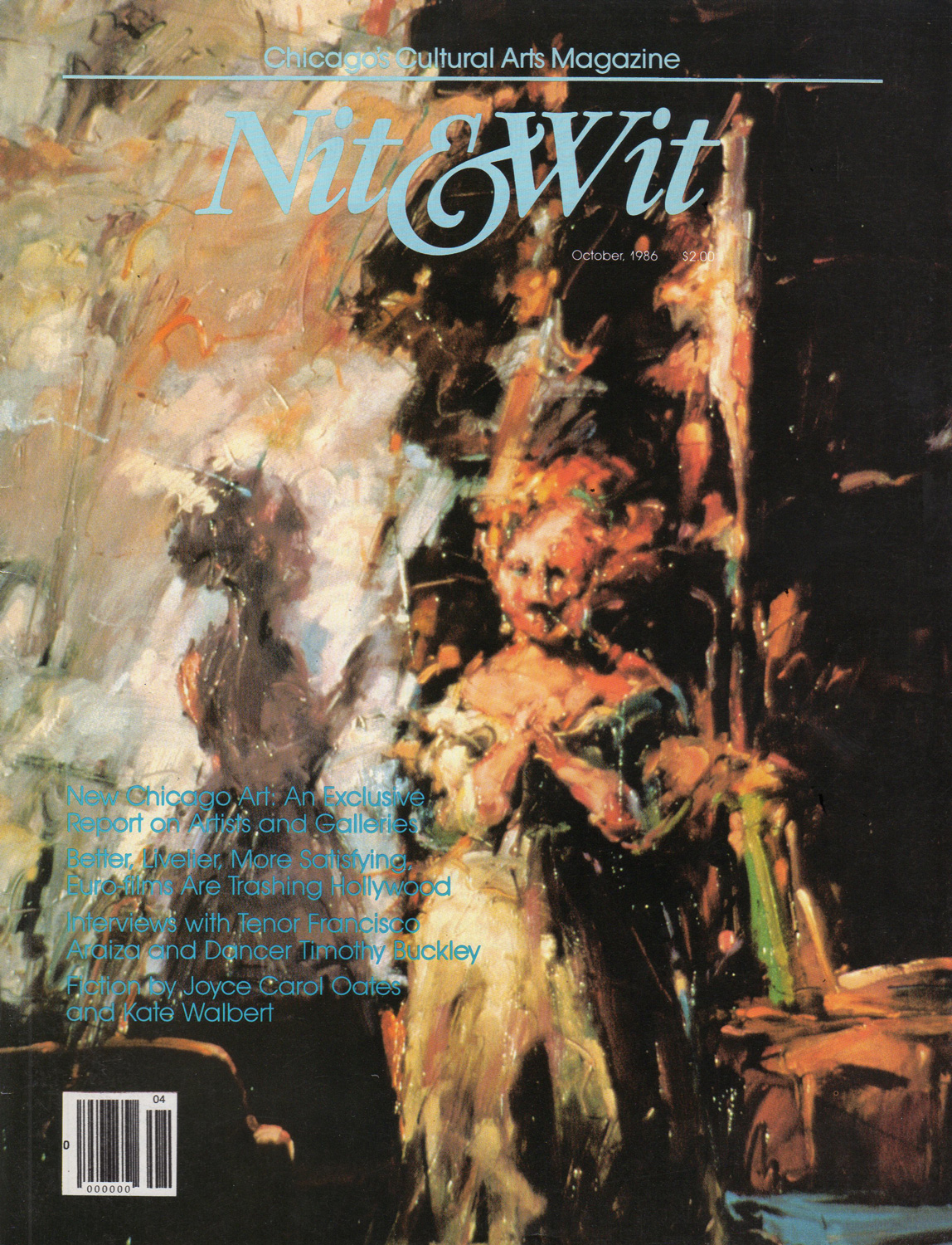 Nit & Wit Magazine  - Volume 7 Number 4, Geneva, IL, October 1986.