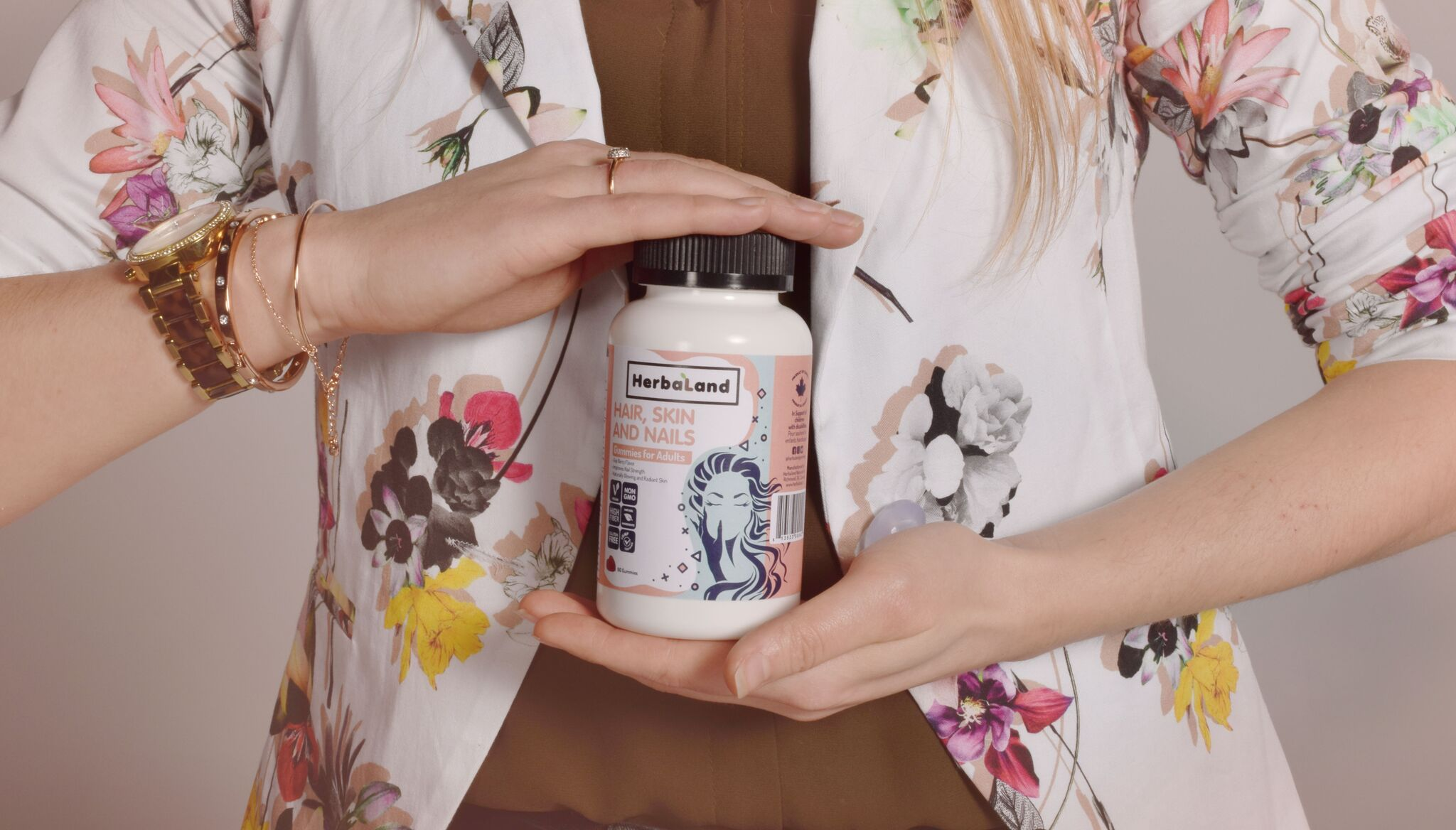 Herbaland makes gummy vitamins for the whole family. Photo credit: Herbaland