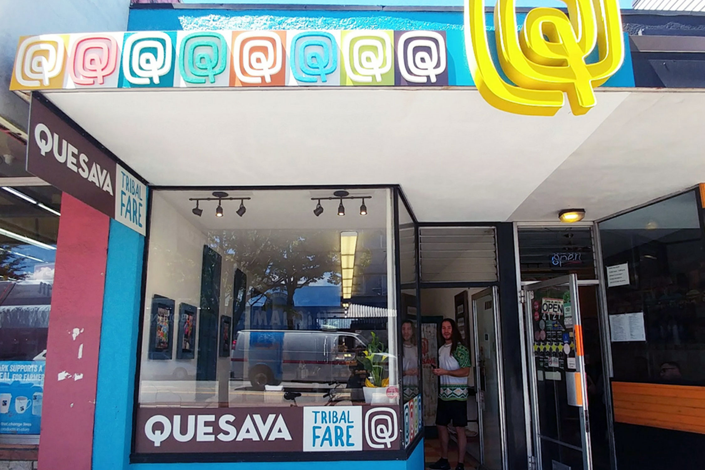 Visit Quesava's storefront location at 4129 Main St, Vancouver, or grab their handmade products at your favourite grocery store.  (Photo courtesy of Quesava.)