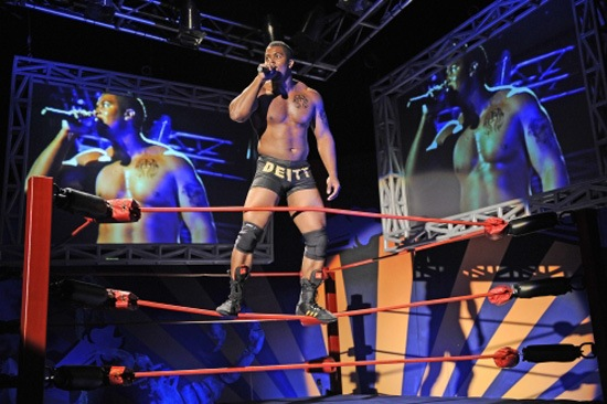 World Premiere  of The Elaborate Entrance of Chad Deity  by Kristoffer Diaz, Directed by Edward Torres at the Victory Gardens Theater in Chicago, IL (2009)