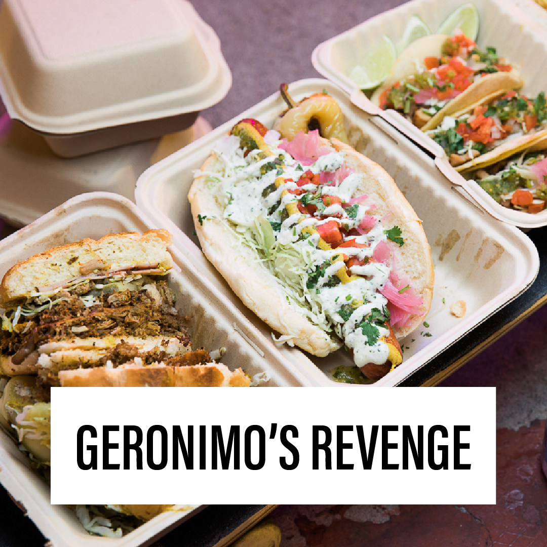 Geronimo's Revenge will be at The Loft Cinema serving up their delicious Sonoran-inspired comfort food during this event! -