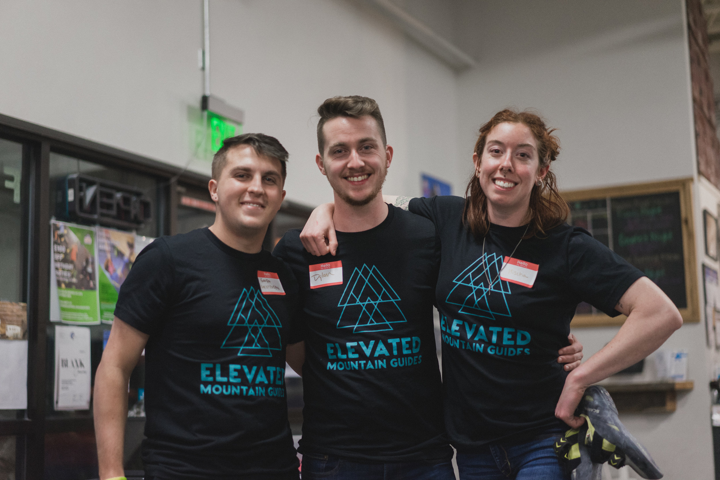 Elevated Mountain Guides logo T's