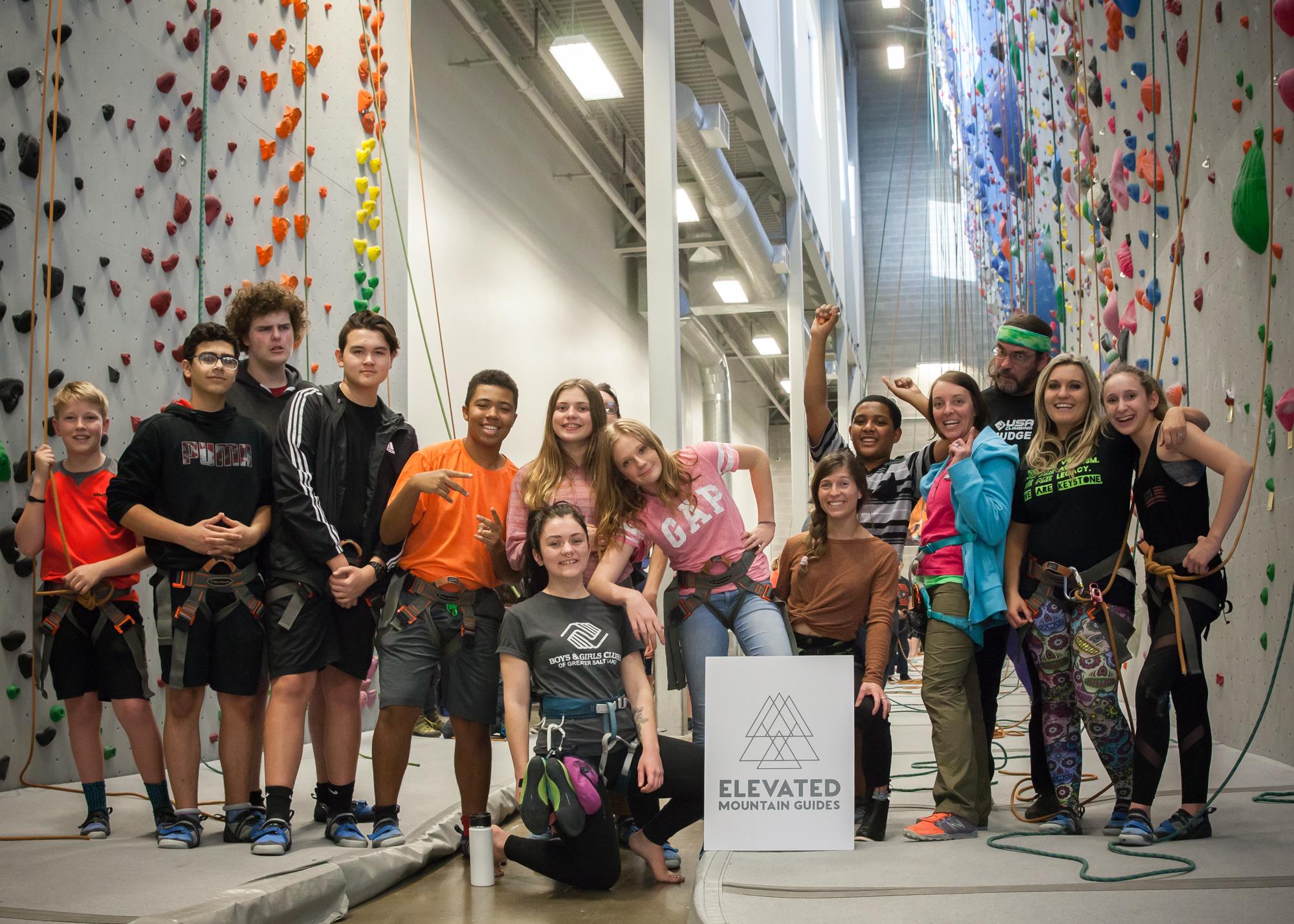 Rockclimbing, Boys & Girls Club