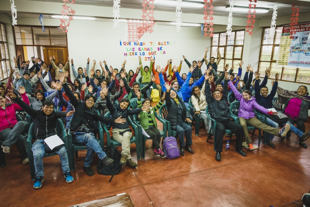 2017 Wilderness Medicine Class, Huaraz, Peru. Photo: Louis Arevalo