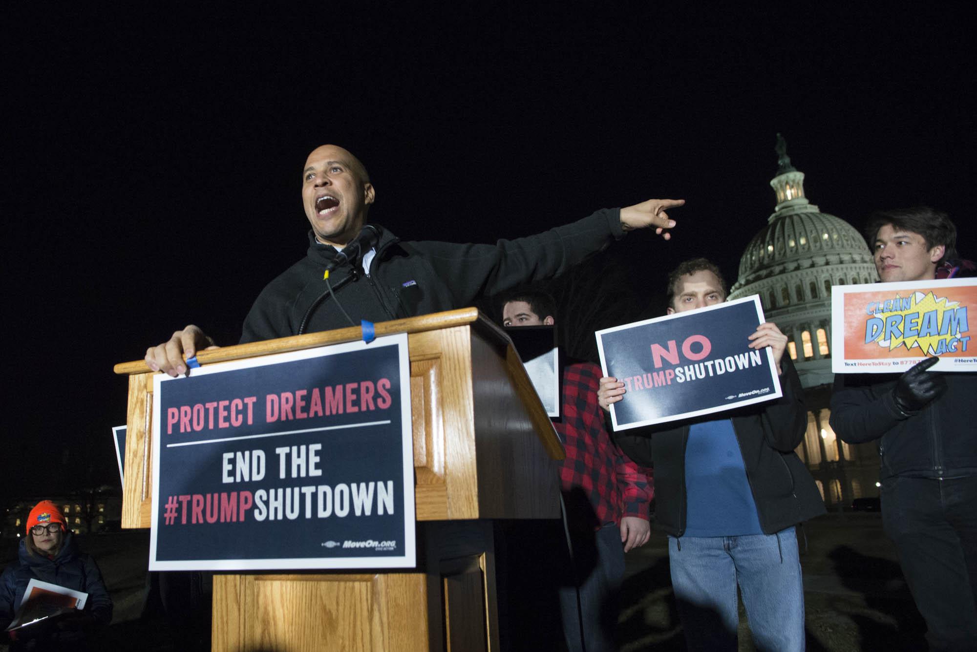 Cory Booker, Senator from New Jersey