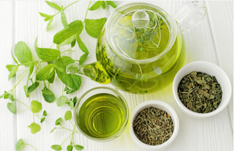Green Tea - Relieves bloating, allergies, acne, aids with weight loss