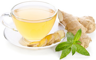 Ginger - Remedy for colds, sore throat, bloating, stomachache