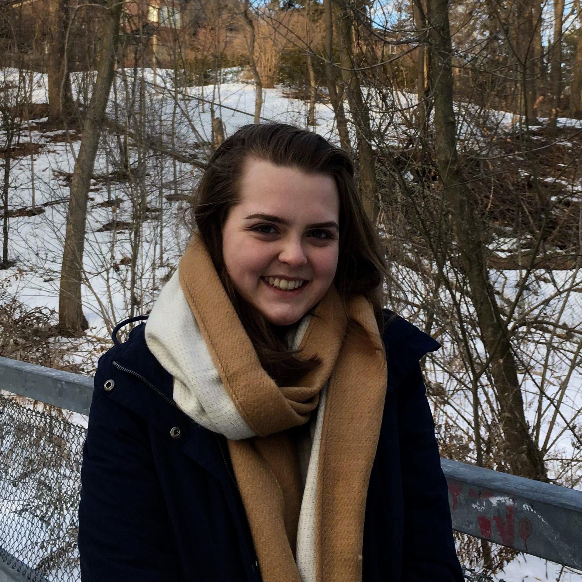 Sarah McGillivray   M.Sc. student, Integrated Program in Neuroscience, McGill.