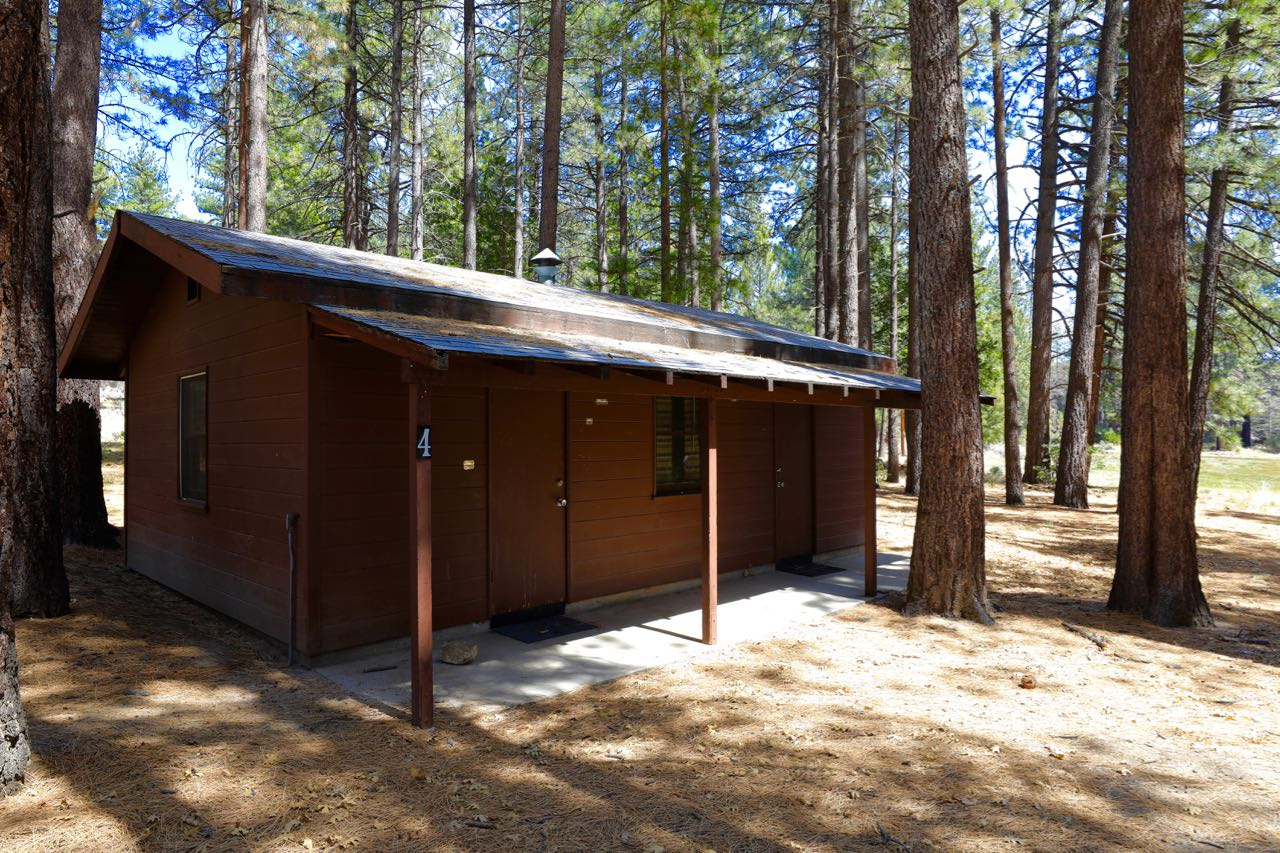 One of our four cabins