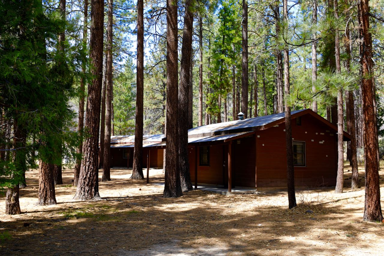 Cabins - sleep 16 each (x4) for 64 total