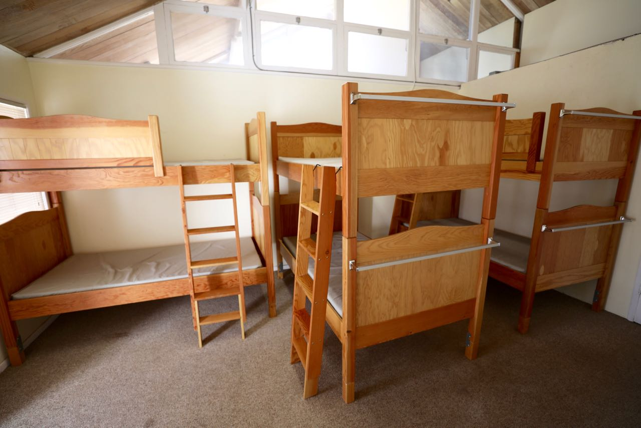 Whispering Pines - one of the sleeping rooms