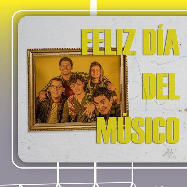 ¡Feliz día del músico! Gracias a todo el apoyo de todos ustedes por apoyarnos en nuestro viaje musical y felicidades a todos los músicos de El Salvador por levantar nuestra cultura.  #music #elsalvador #musica #diadelmusico #happy #goodtime