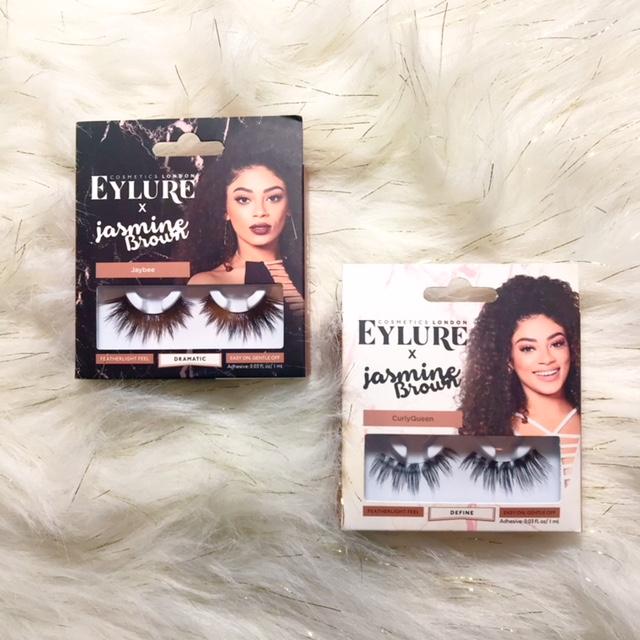 EyLure x Jasmine Brown | Jaylee & CurlyQueen Eyelashes $7.99