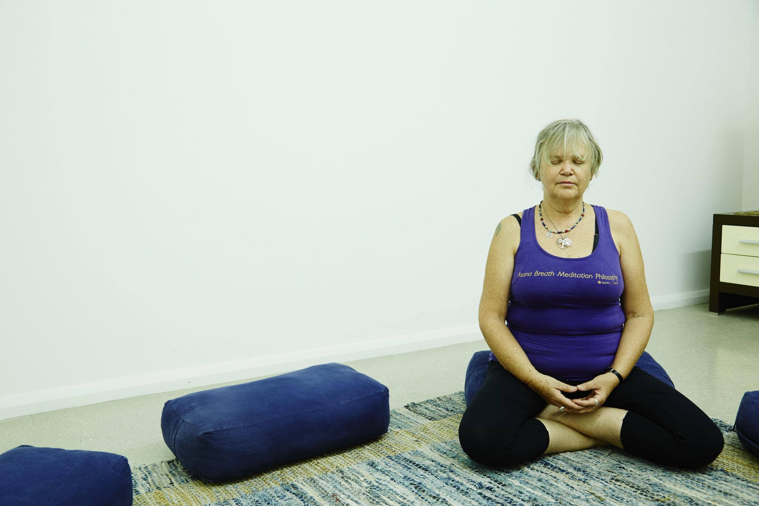 Susanne Meditating