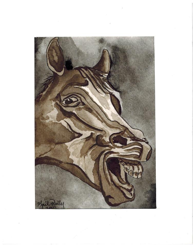 Gail Reilly - Derp Horse