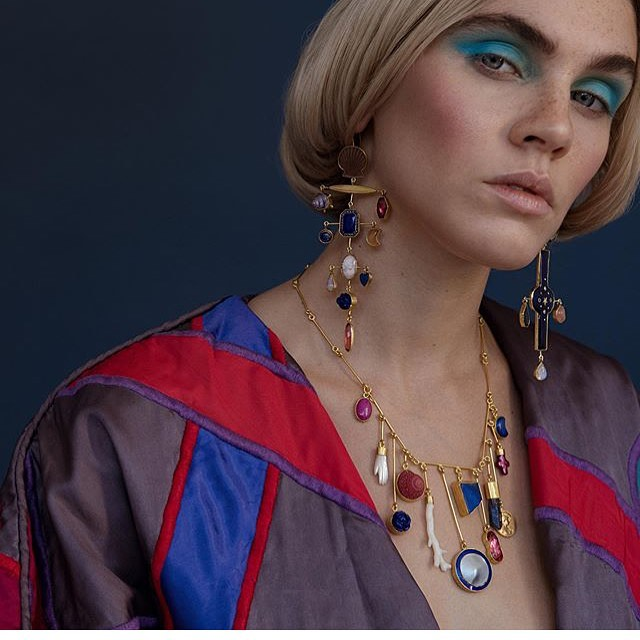 We love pulling together the best creative team for your project. This was the second time we'd worked with jewellery designer @grainnemorton coordinating model, photographer, makeup and studio space. The results speak for themselves.  To enquire about look books, campaigns, e-comm or any other creative needs drop us an email. . . . #fashionphotography #beautyphotography #jewelleryphotography #campaign #editorial #pr #lookbooks #80svibes #shootorganisation #shootcoordination #artdirection