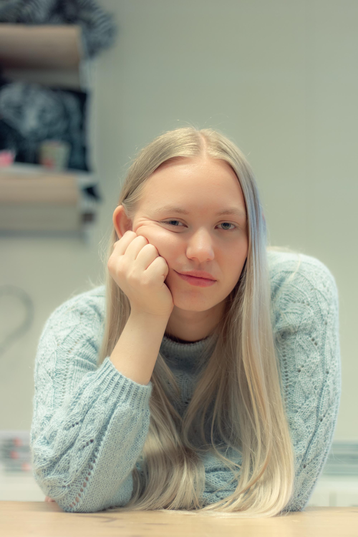 Heidi   - serie med portretter