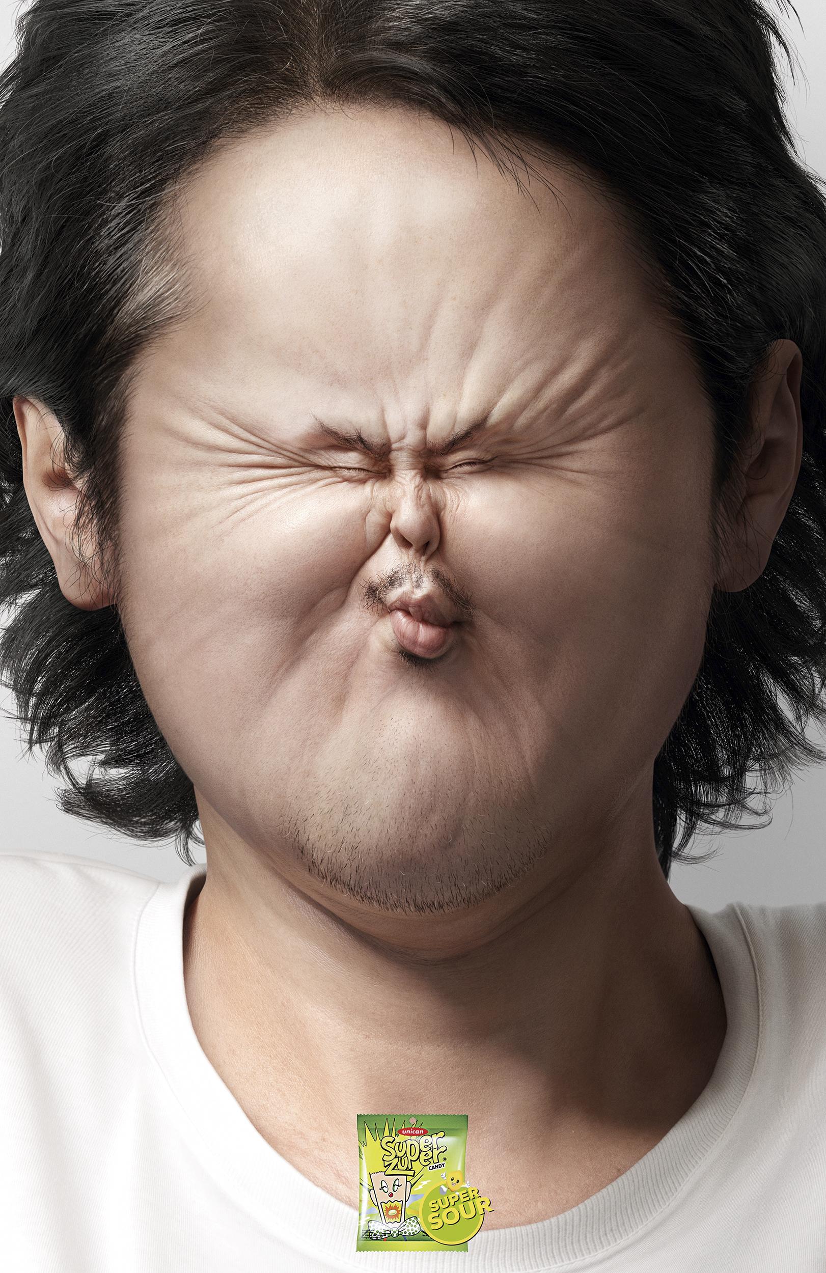Sour-Faced Man, Sour-Faced Woman  Hakuhodo Indonesia