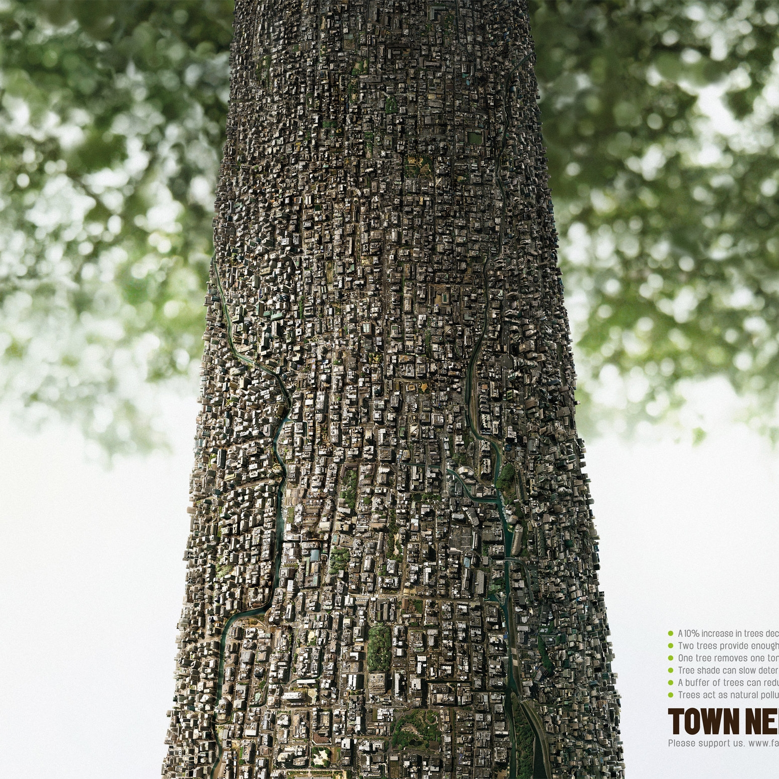Town Needs Trees  Ogilvy Group Thailand