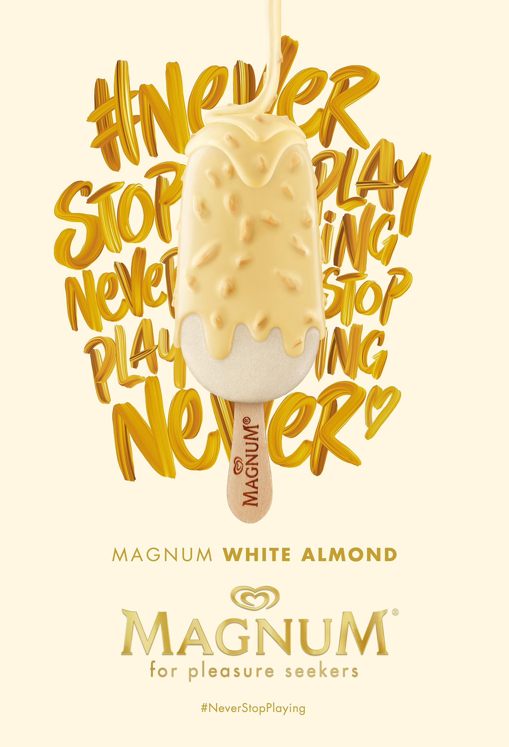 Magnum White Almond  Lola MullenLowe Madrid